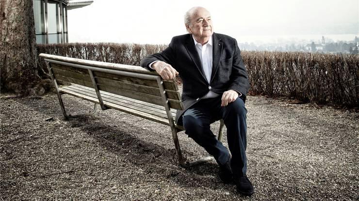 Blatter über die Schweiz: «Wir leben hier in einem Paradies.»