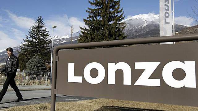 Lonza-Werk in Visp