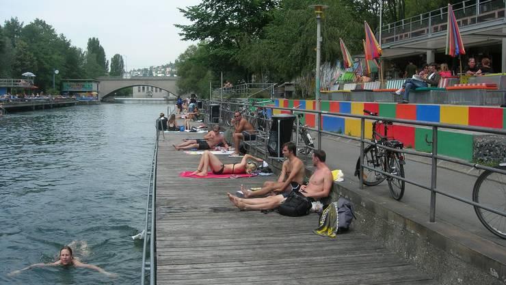 Sämtliche Fluss-, See- und Beckenbäder öffnen am kommenden Donnerstag ihre Tore für die Badegäste. (Archivbild)