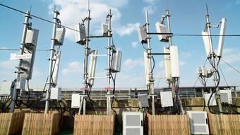 5G-Antennen (Symbolbild)