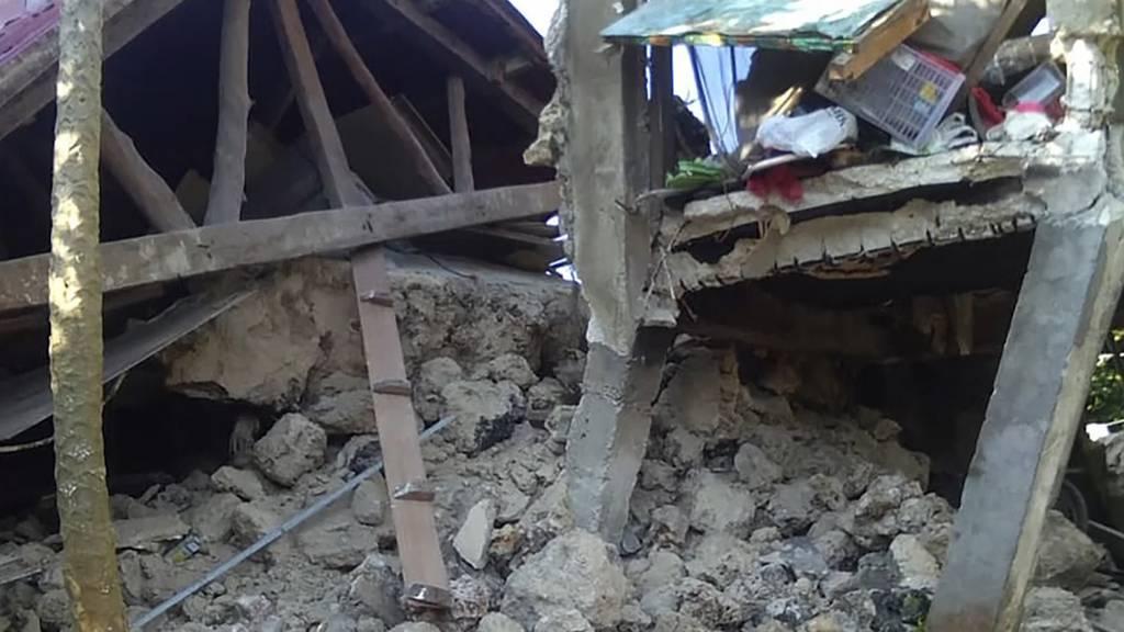 Mehrere Tote nach Erdbeben auf den Philippinen