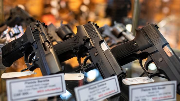 Waffenteile müssen künftig markiert werden (Symbolbild).