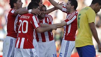 Paraguay sorgte gegen Brasilien fast für eine Überraschung.