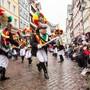 Das kommende Wochenende treffen sich in Altstätten rund 35 Fasnachts-Vereine aus ganz Europa. Der Röllelibutzen Verein (Bild) feiert dabei sein 100-Jahr-Jubiläum.