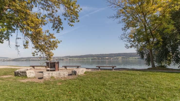 Am Ufer des Hallwilersees, in Beinwil am See, lauerte der Unhold der jungen Frau auf – die genaue Stelle ist nicht bekannt. (Archivbild)