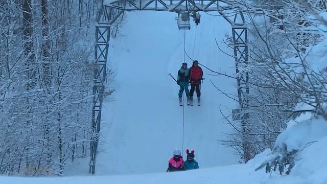 Schneespass am Balmberg