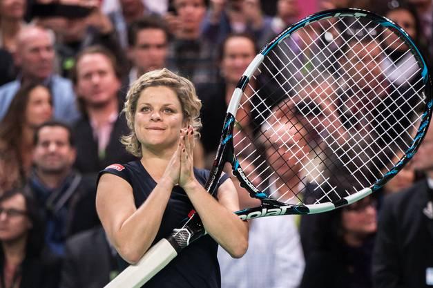 Mit 36 Jahren zurück auf der WTA-Tour: Kim Clijsters.