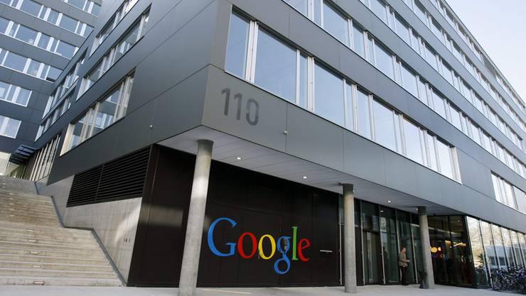 Das Zürcher Google-Hauptquartier bietet den Angestellten nicht nur gedeckte Velo-Parkplätze, sondern sogar eine kleine Reparaturwerkstatt.