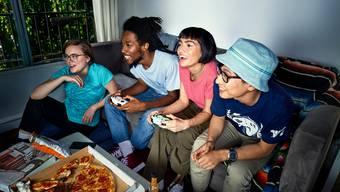 Jeder kann mitspielen: Ein gamecontroller reicht.