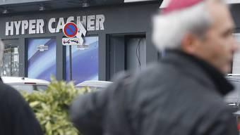 """Im jüdischen Supermarkt """"Hyper Cacher"""" im Osten von Paris tötete am 9. Januar 2015 ein Islamist drei Kunden und einen Mitarbeiter. (Archivbild)"""