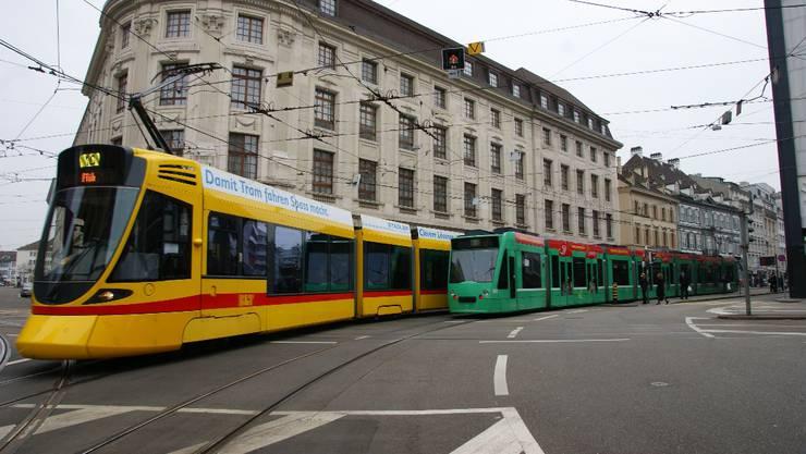 Trams in Basel (Symbolbild)