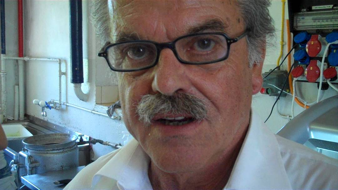 Nudelwerkstatt-Chef Peter Geschwend an der Authentica