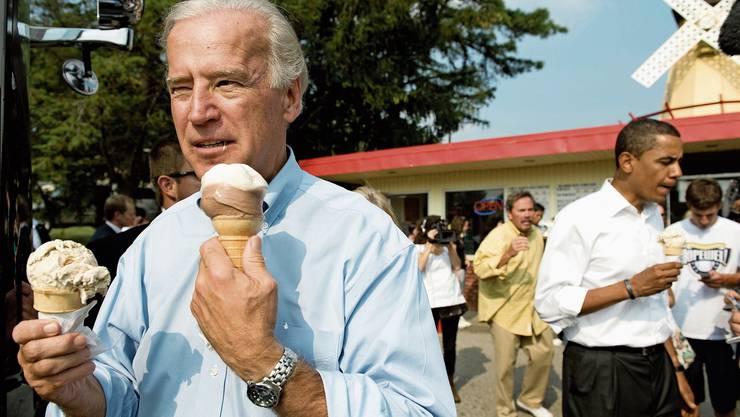 Joe Biden gilt als Uhrenfan. Die Marke Omega hat es ihm angetan.