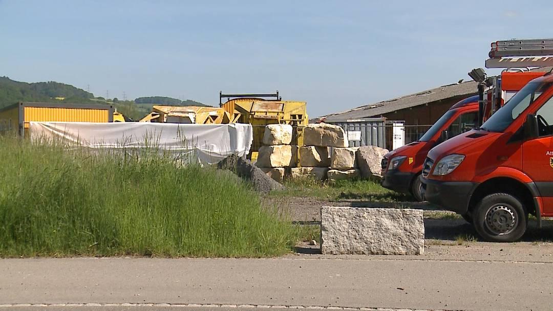 Tödlicher Arbeitsunfall in Attelwil