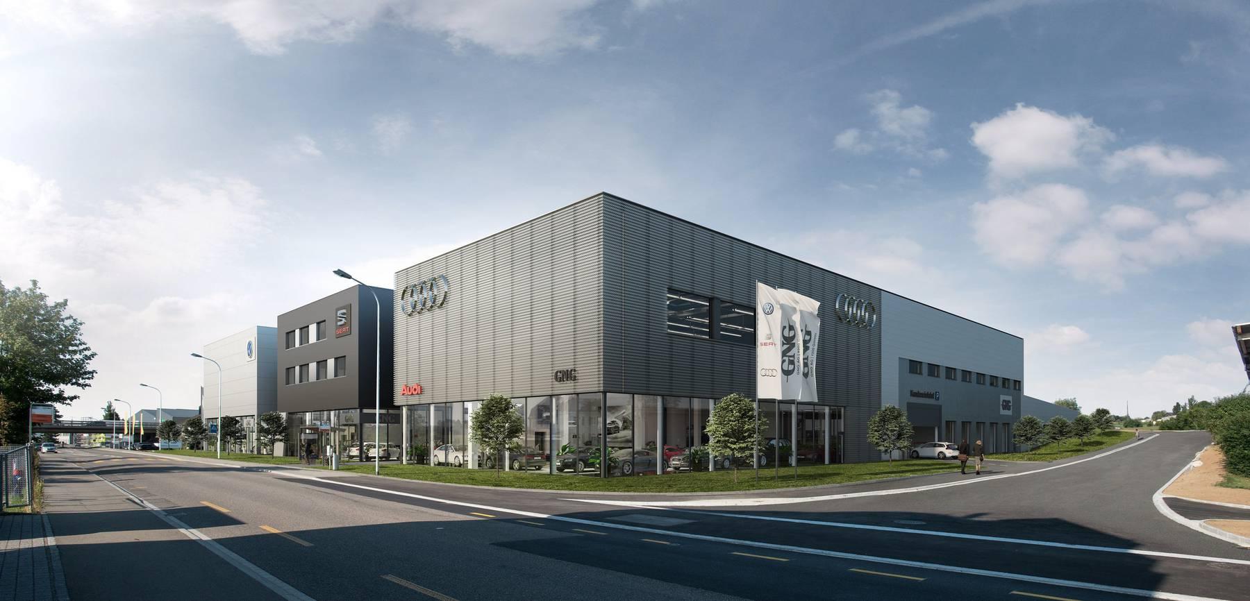 So wird der Neubau an der Bischofszellerstrasse aussehen.
