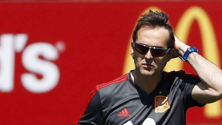Der 51-jährige Julen Lopetegui war seit 2016 Trainer der Spanier.