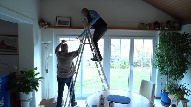 Samichlaus und Rentiere: In Lyss strahlen die Häuser bald um die Wette