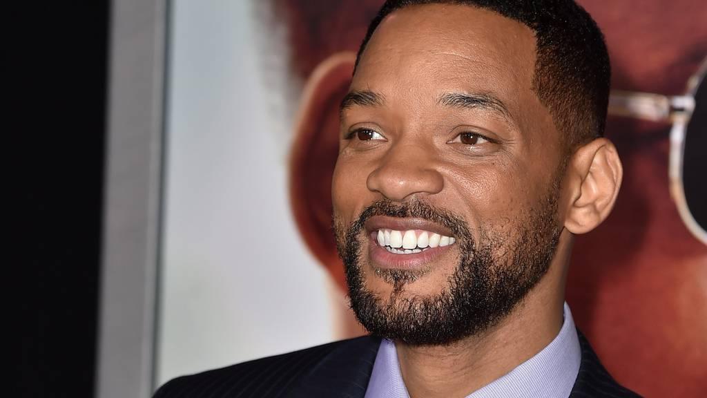 Will Smith am 24. Februar an der Premiere des Films «Focus». (Foto: Getty Images)