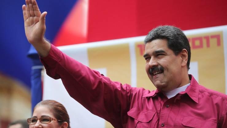 Mit den Sanktionen will die EU die Regierung von Staatschef Nicolás Maduro mit der Opposition an den Verhandlungstisch bringen. (Archivbild)