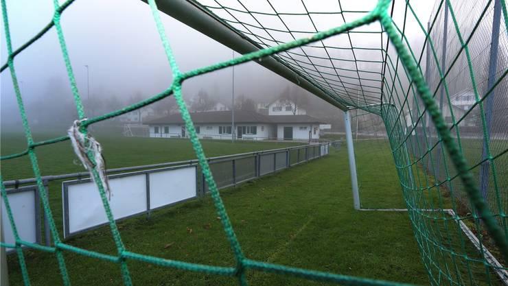 Der Fussballplatz Brühl in Mümliswil