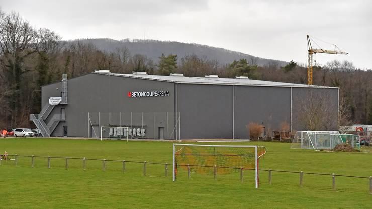 Eröffnungsspiel in der Betoncoupe Arena in Schönenwerd.