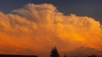 Wolkenphänomen Aargau 23.7.2020