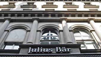 Das Logo der Bank Julius Bär (Archiv)
