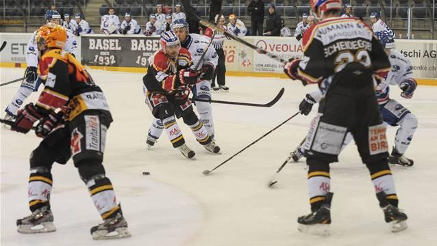Die Basel Sharks erhalten Unterstützung vom Meister.
