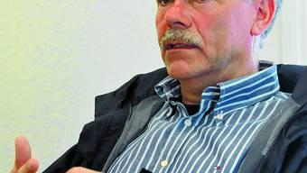 Peter Gfeller und Christoph Wyss im Streitgespräch