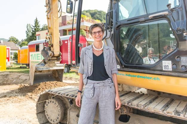 Die Geschäftsleiterin der St. Bernhard AG, Bernadette Flükiger.
