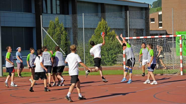 Faszination Handball: auch dieses Jahr am «JUMP'13» auf dem Fricker Ebnet.