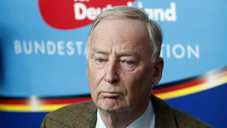 Alexander Gauland ist einer der beiden Parteichefs der AfD sowie Oppositionsführer im Bundestag.