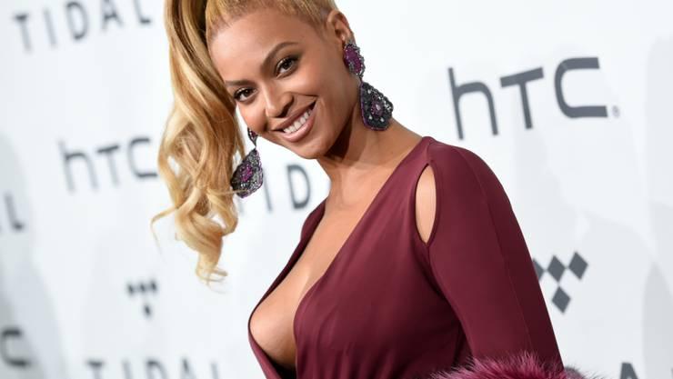 Beyoncé bittet auf ihrer Tournée um Spenden. (Archivbild)