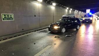 Beim Auffahrunfall auf der A2 waren insgesamt zehn Fahrzeuginsassen beteiligt.