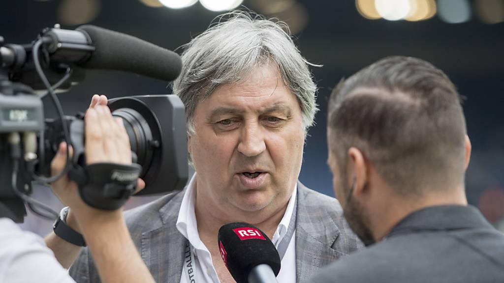 Angelo Renzetti, Präsident des FC Lugano, spricht von einem gut gemeinten, aber kaum realisierbaren Szenario