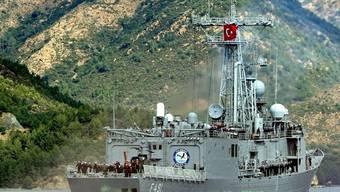 Türkische Kriegsschiffe sollen Gaza-Flotten eskortieren (Symbolbild)