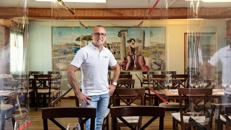 Michele Grassi im coronakonformen «Centro Italiano».