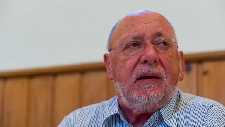 Gemeindeammann Hans Ulrich Reber.