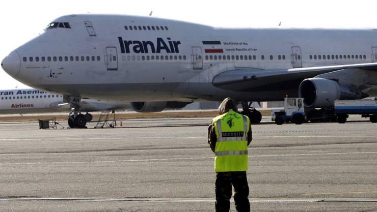 Bis die staatliche Fluggesellschaft Iran Air nach Europa fliegt, dürfte noch einige Zeit vergehen - die Flotte erfüllt derzeit die strengen Sicherheitsanforderungen nicht.
