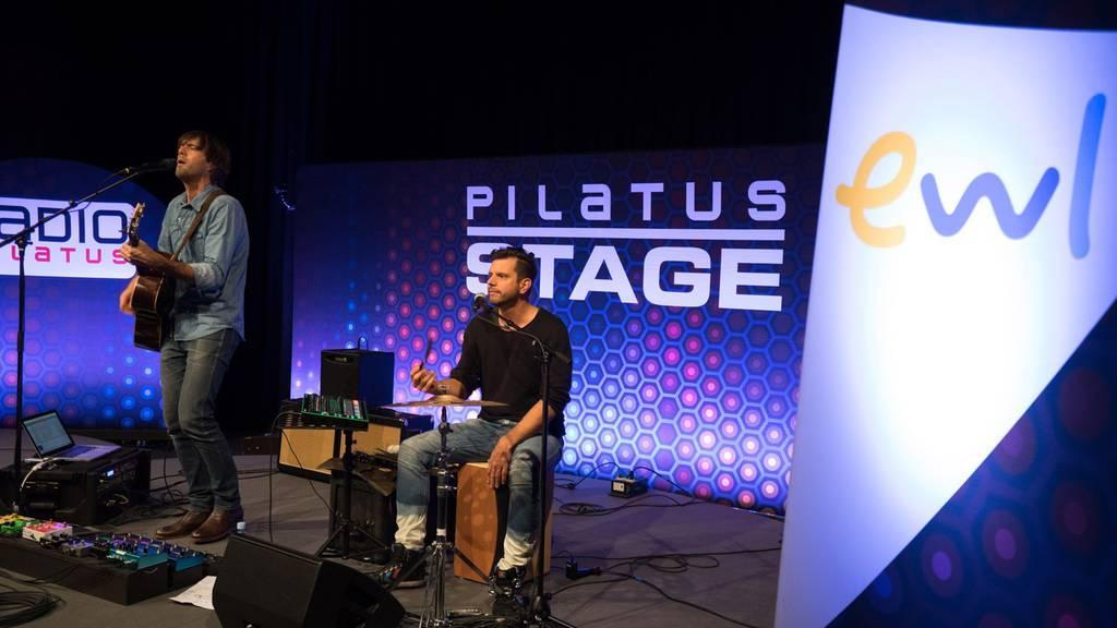 Adrian Stern überzeugte auf der Pilatus Stage