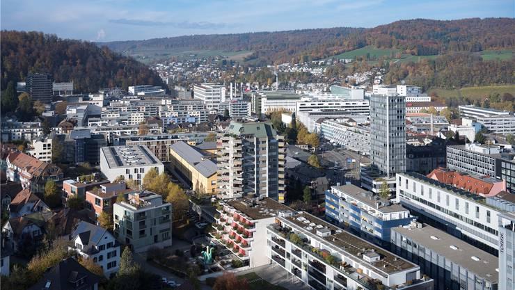 Blick auf Badens Zentrum: Eine Steuererhöhung von 92 auf 97 Prozent wurde an der Urne abgelehnt. Alex Spichale
