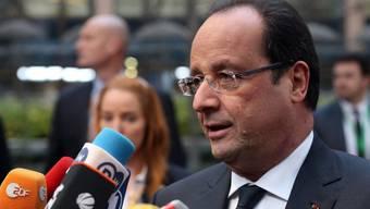 François Hollande bleibt optimistisch (Archiv).