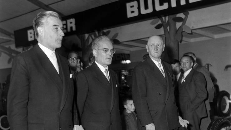 CVP, 1954 bis 1959