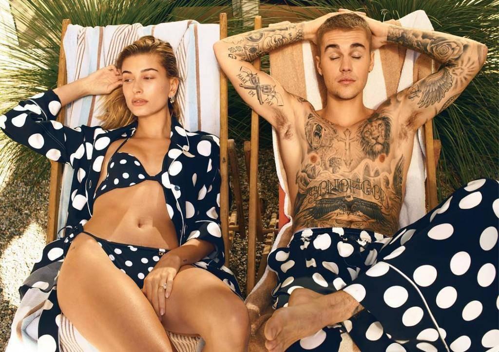 Justin und Hailey Bieber (© Instagram/@justinbieber)