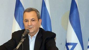 Der israelische Verteidigungsminister Ehud Barak (Archiv)