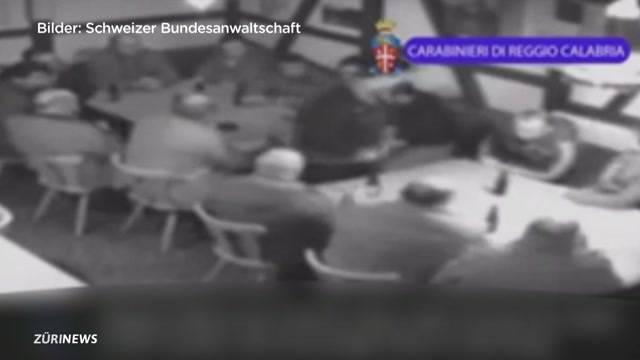Schlag gegen Schweizer Mafiosos