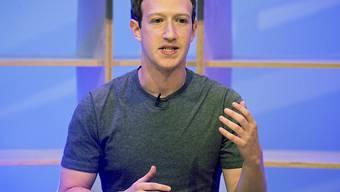"""Facebook-CEO Mark Zuckerberg: """"Wir betreten ein neues goldenes Zeitalter für Video"""" (Archiv)."""