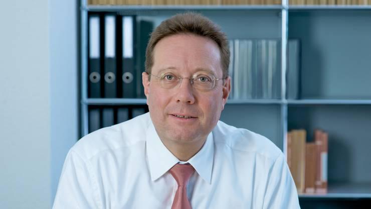 Balz Hösly, Verwaltungsratspräsident der AG Hallenstadion und neu auch Verwaltungsrat der Messe Schweiz.