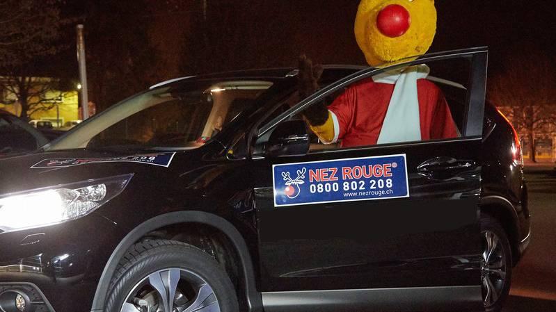 Nez Rouge fährt feierfreudige nach Hause