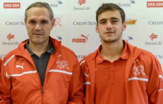 Der Aarauer Neuzugang (rechts) zählt in der U21 von Trainer Pierluigi Tami nicht zu den Stammkräften.